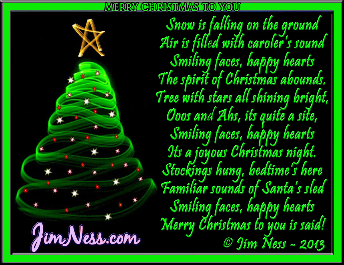 Merry christmas from heaven poem car tuning